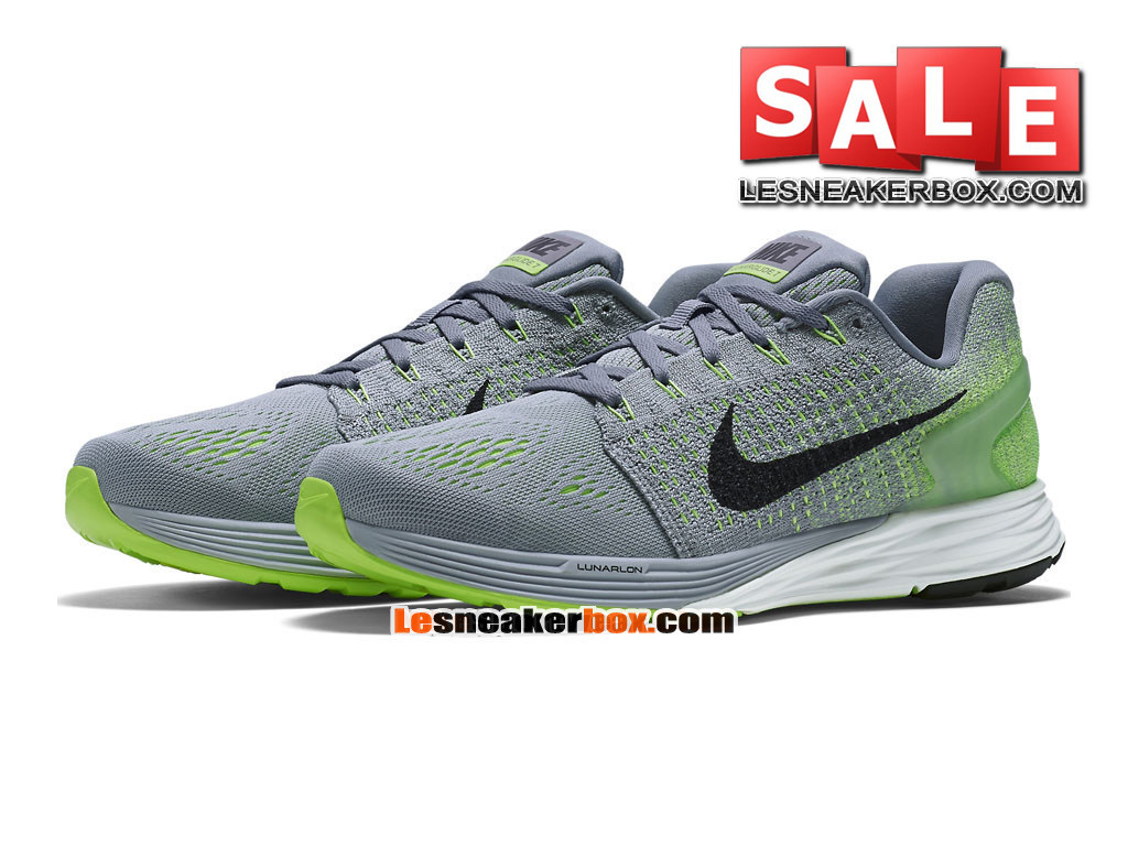 best sneakers 64a0a 0b758 ... chaussures gris summit gris new zealand nike lunarglide 7 mens nike  running shoe wolf grey ghost green bae91 6a7b8 ...