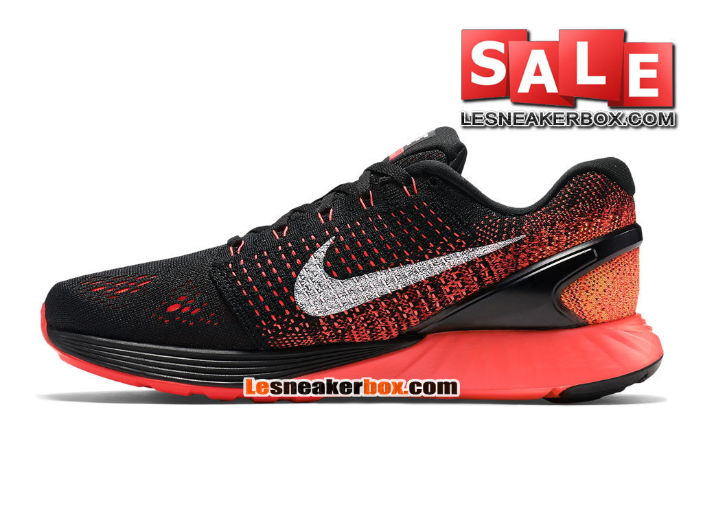 new style cb6d4 a7894 ... Nike LunarGlide 7 - Men´s Nike Running Shoe Black Bright  Crimson University ...
