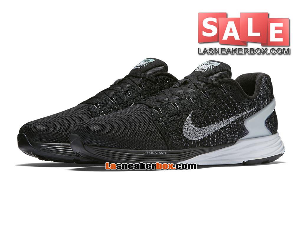 913111e4c24a ... Nike LunarGlide 7 - Men´s Nike Running Shoe Black Pure Platinum Dark ...