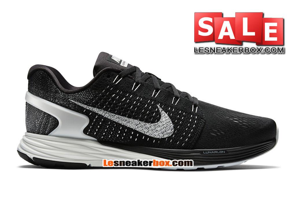 Nike LunarGlide 7 - Men´s Nike Running Shoe Black/Anthracite/Wolf Grey