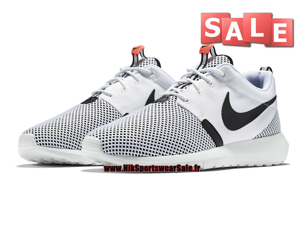 release date: b095b bdc60 ... Nike Roshe One NM Breeze - Men´s Nike Sportswear Shoes White Black  ...