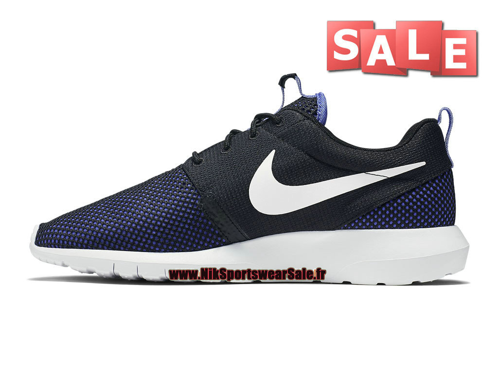 new concept 769a3 35ff9 ... Nike Roshe One NM Breeze - Men´s Nike Sportswear Shoes Black Persian  Violet ...