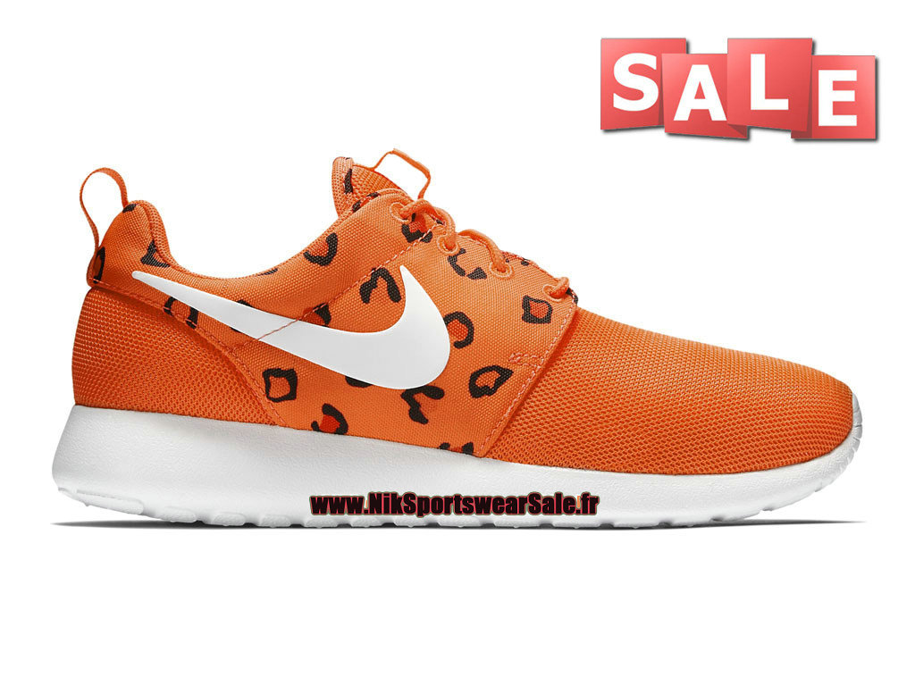 Nike Roshe One Print - Chaussure de Nike Sportswear Pas Cher Pour Homme Cramoisi brillant/Lave piquant/Blanc 599432-603H