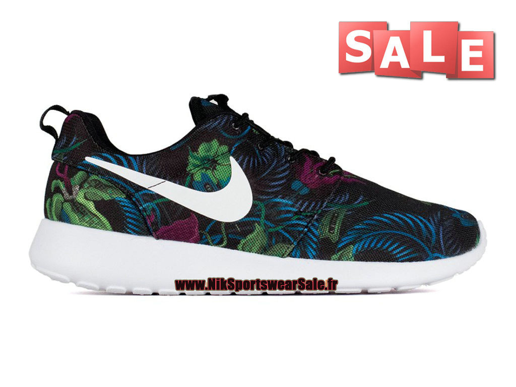 pretty nice 9be1f 72a11 Nike Roshe One Print - Chaussure de Nike Sportswear Pas Cher Pour Homme  Fuchsia flash