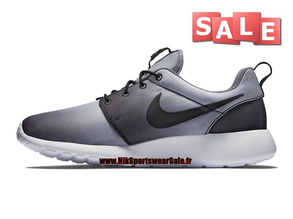 size 40 9416b 47f16 ... Nike Roshe One Print - Men´s Nike Sports Shoe Black White Cool ...