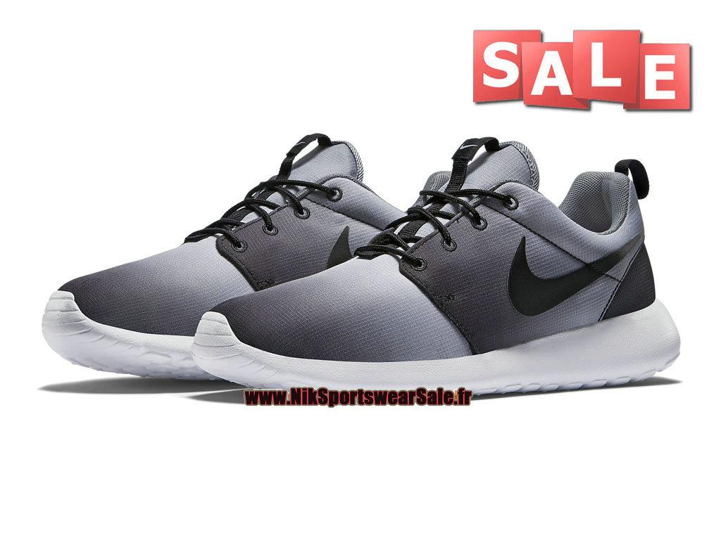 size 40 79941 55d36 ... Nike Roshe One Print - Men´s Nike Sports Shoe Black White Cool ...