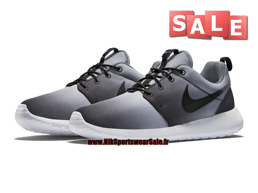 ff4796bd3389 Nike Roshe One Print - Men´s Nike Sports Shoe Black White Cool Grey ...