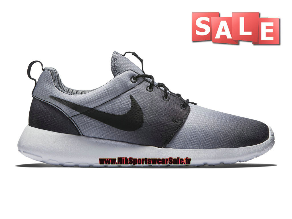 buy popular e3476 bf906 Nike Roshe One Print - Men´s Nike Sports Shoe Black White Cool