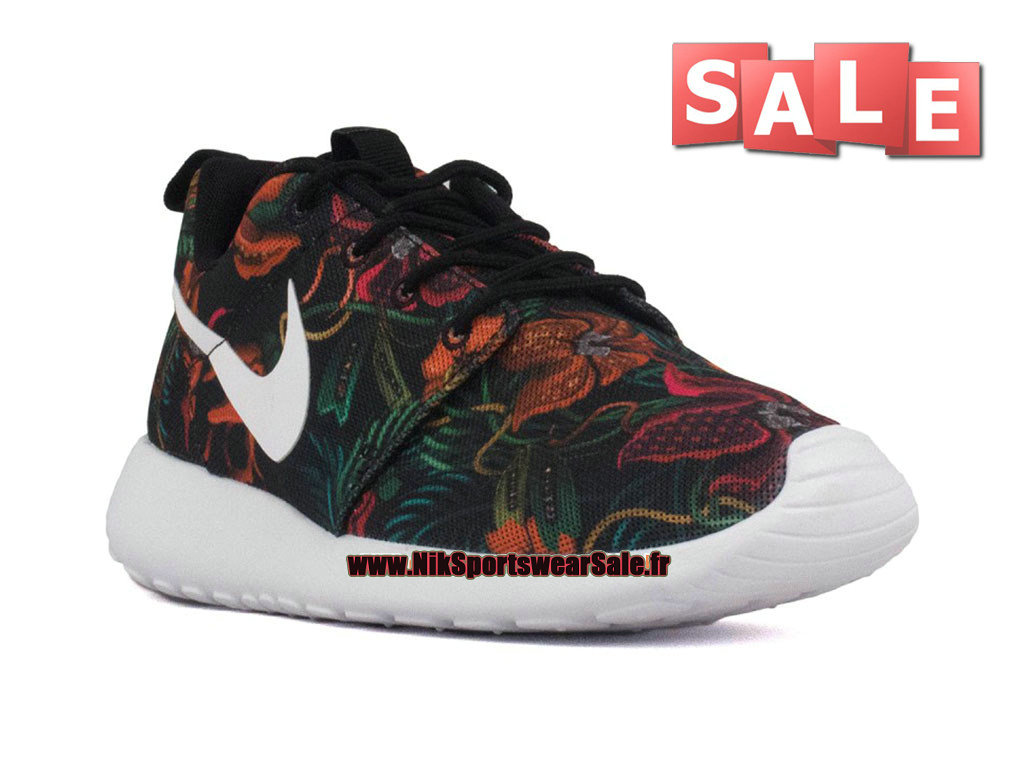 huge selection of 22ba6 741ce ... Nike Roshe One Print - Chaussure de Nike Sportswear Pas Cher Pour Homme  Orange total  ...