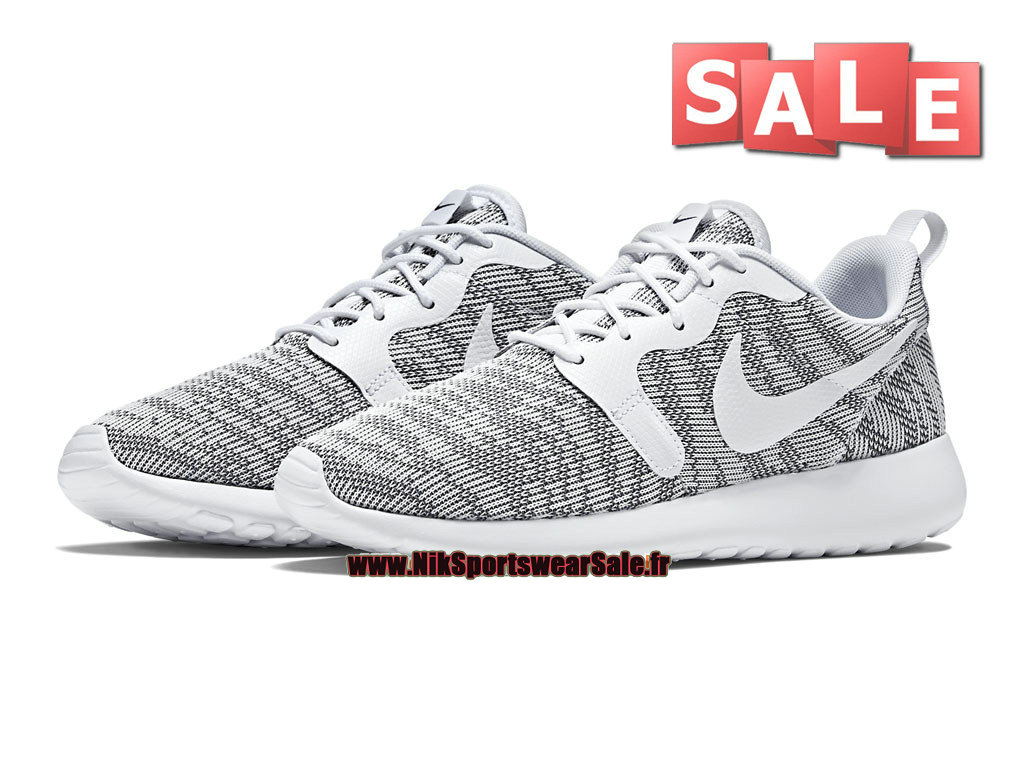detailed look a4038 794e1 ... Nike Roshe OneRun Knit Jacquard - Men´s Nike Sports Shoes Cool Grey ...