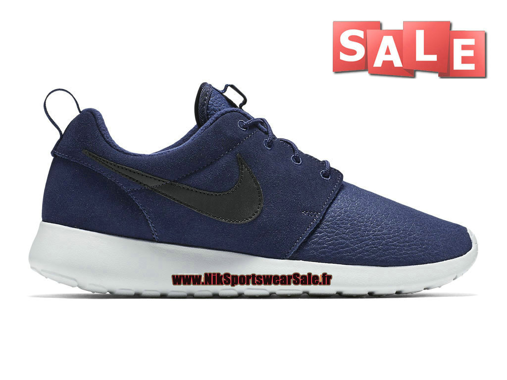 Nike Roshe One/Run Suede - Men´s Nike Sportswear Shoes Midnight Navy/
