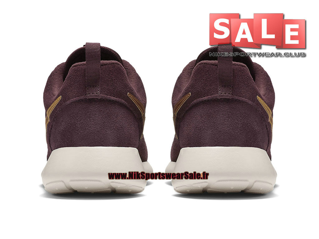 info for 8ac91 2f5e5 ... Nike Roshe One Run Suede - Men´s Nike Sportswear Shoes Deep Burgundy