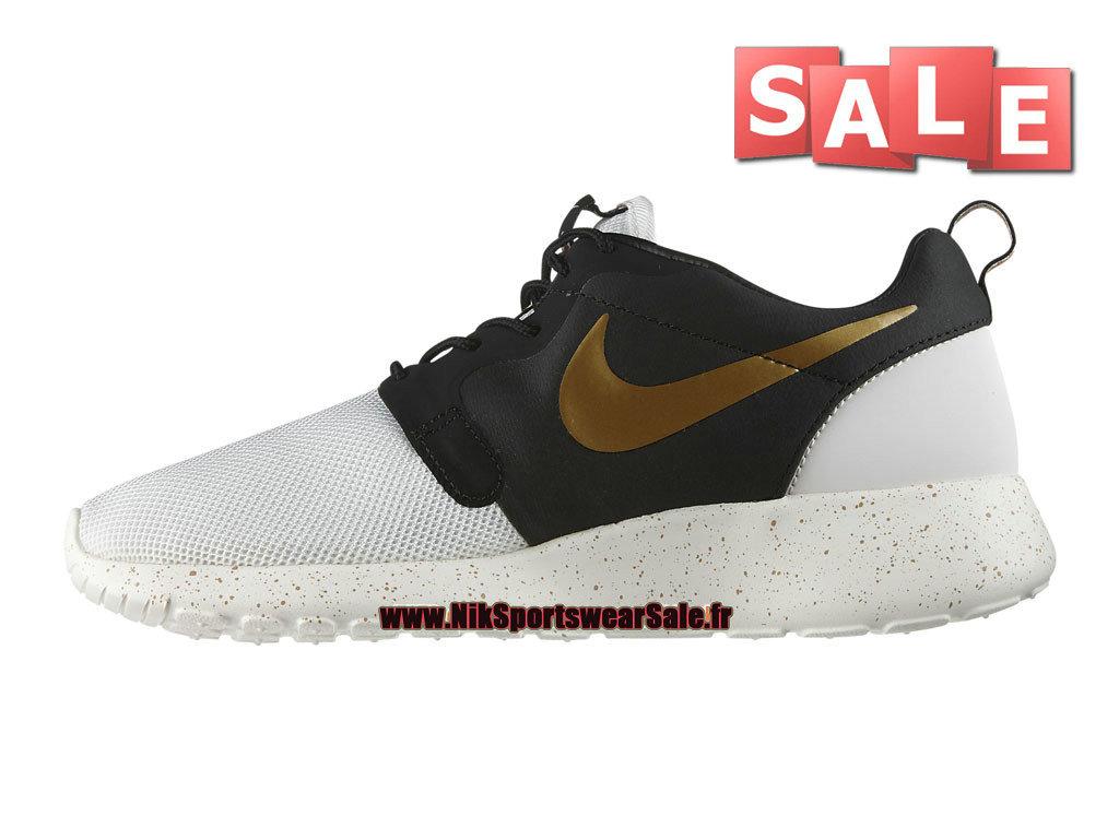 buy online 91e00 c19b5 ... Nike Roshe Run Hyperfuse Premium QS - Men´s Nike Sportswear Shoes  Ivory Metallic ...