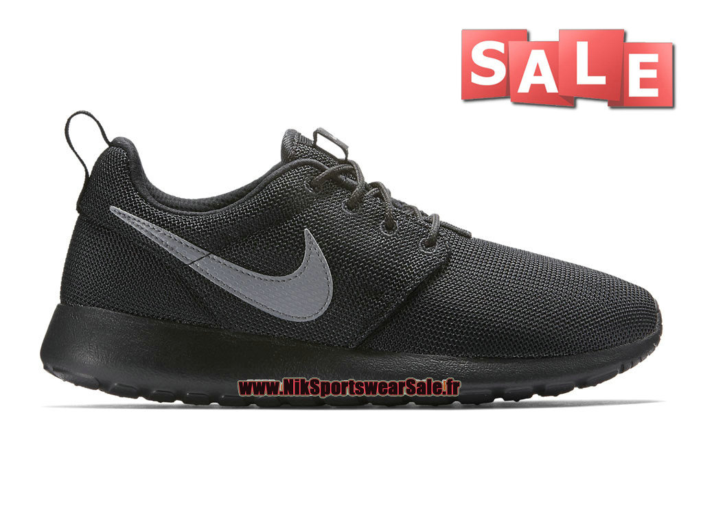 new concept 70e8f 9a287 Nike Roshe Run One - Men´s Nike Sports Shoe Black Cool Grey