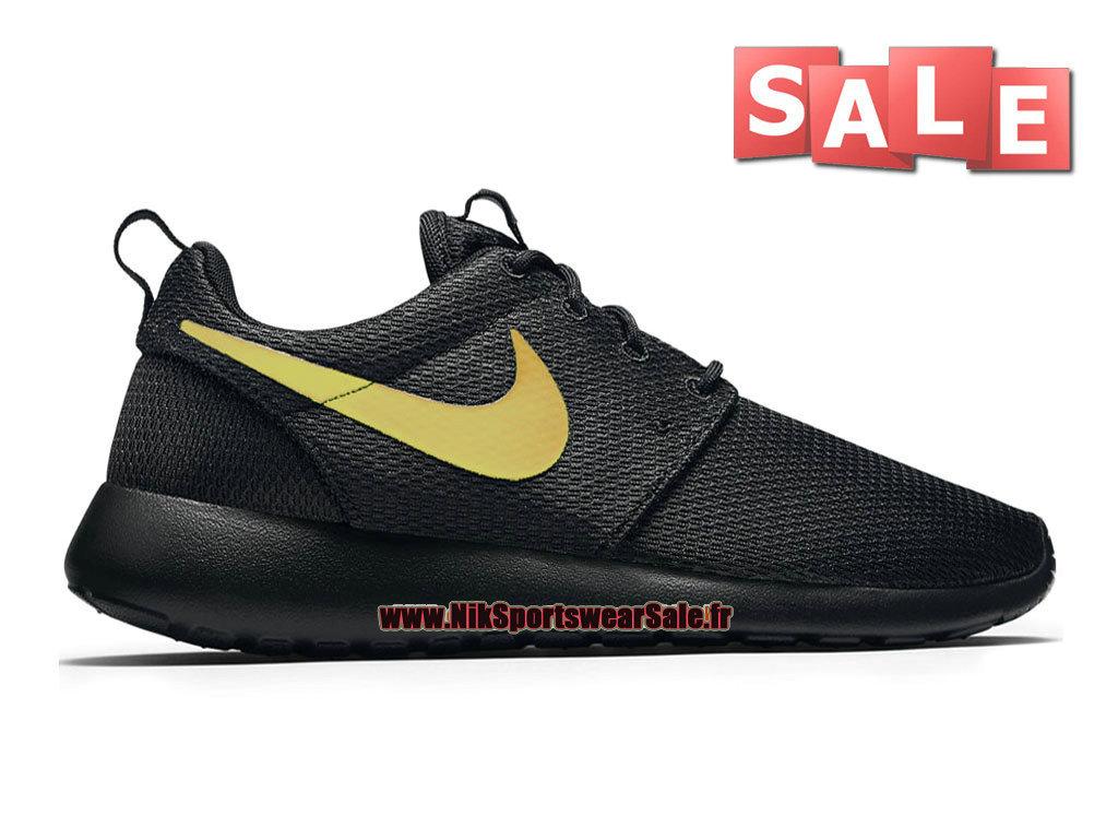 check out 23ccf 629c3 Nike Roshe Run One PE - Men´s Nike Sports Shoe Black Metallic ...