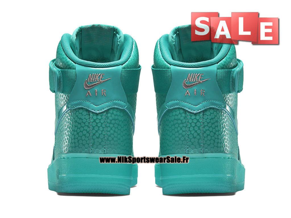 hot sales c7e27 751e4 ... Nike Wmns Air Force 1 Hi Premium - Chaussure Nike Montante Pas Cher  Pour Femme