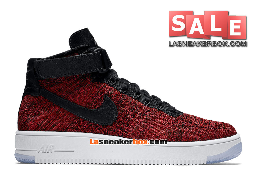 premium selection 6181e b258d Nike Wmns Air Force 1 High Ultra Flyknit - Chaussure Nike Sportswear Pas  Cher Pour Femme ...
