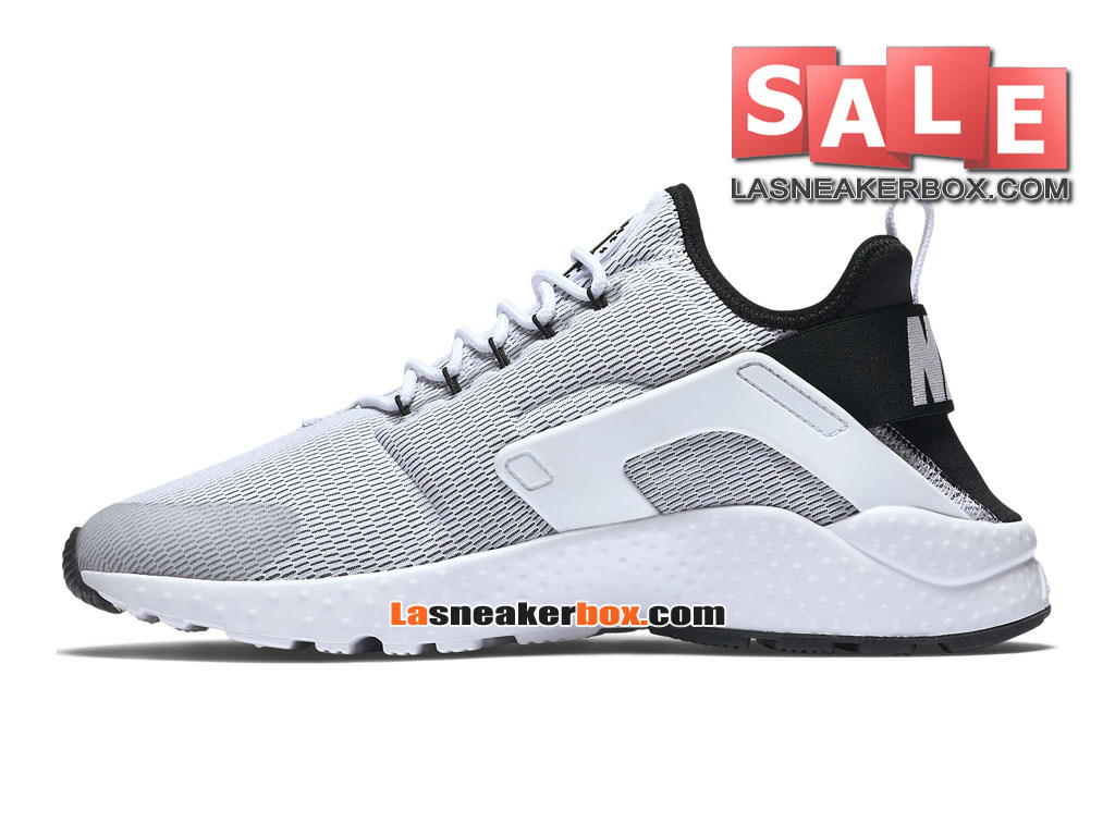 new products 60bd2 80bac ... Nike Wmns Air Huarache Ultra - Chaussures Nike Sportswear Pas Cher Pour  Femme Fille Blanc ...