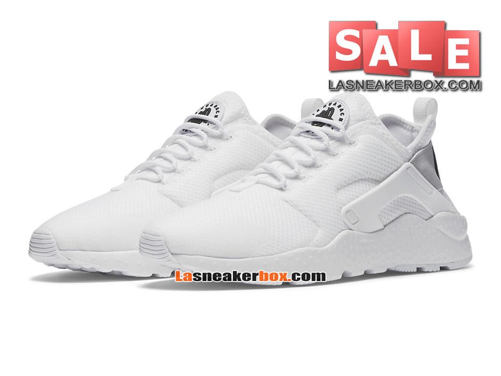 d0a79914274 ... Nike Wmns Air Huarache Ultra - Chaussures Nike Sportswear Pas Cher Pour  Femme Fille Blanc ...