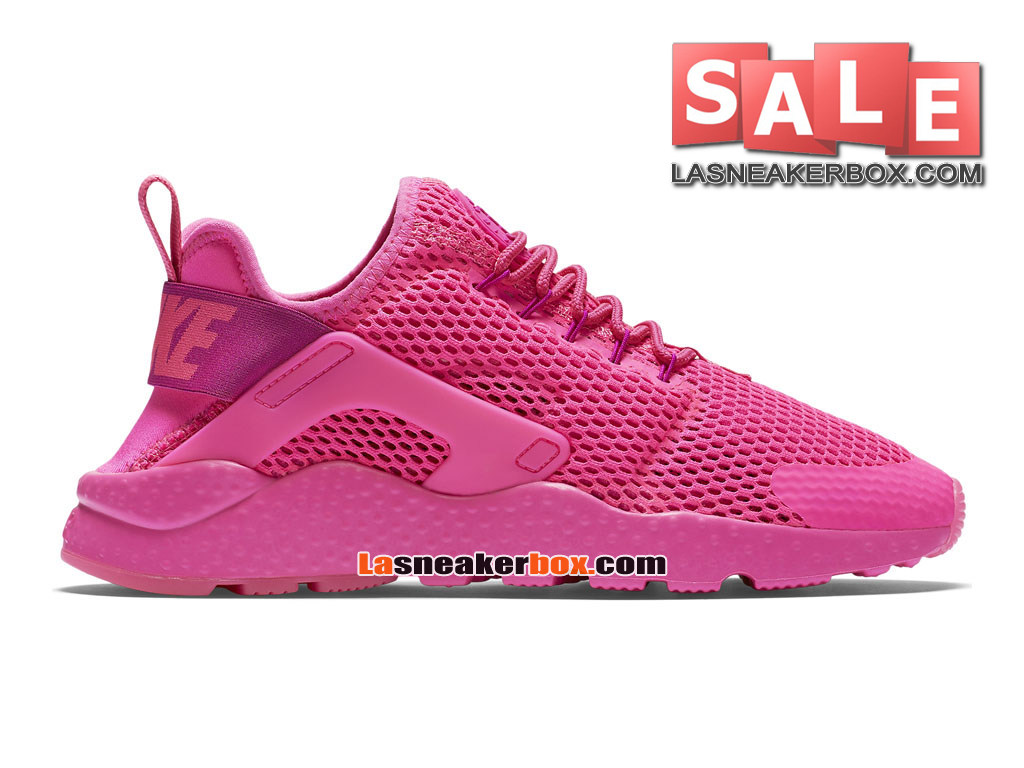 Nike Wmns Air Huarache Ultra - Chaussures Nike Sportswear Pas Cher Pour Femme/Fille Explosion rose/Explosion rose 833292-600