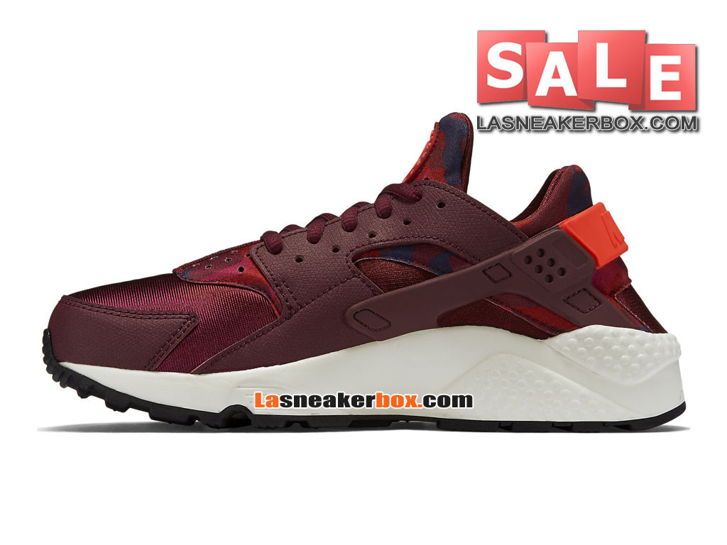 info for b8074 68f1f ... Nike Wmns Air Huarache Ultra - Chaussures Nike Sportswear Pas Cher Pour  Femme Fille Grenat ...