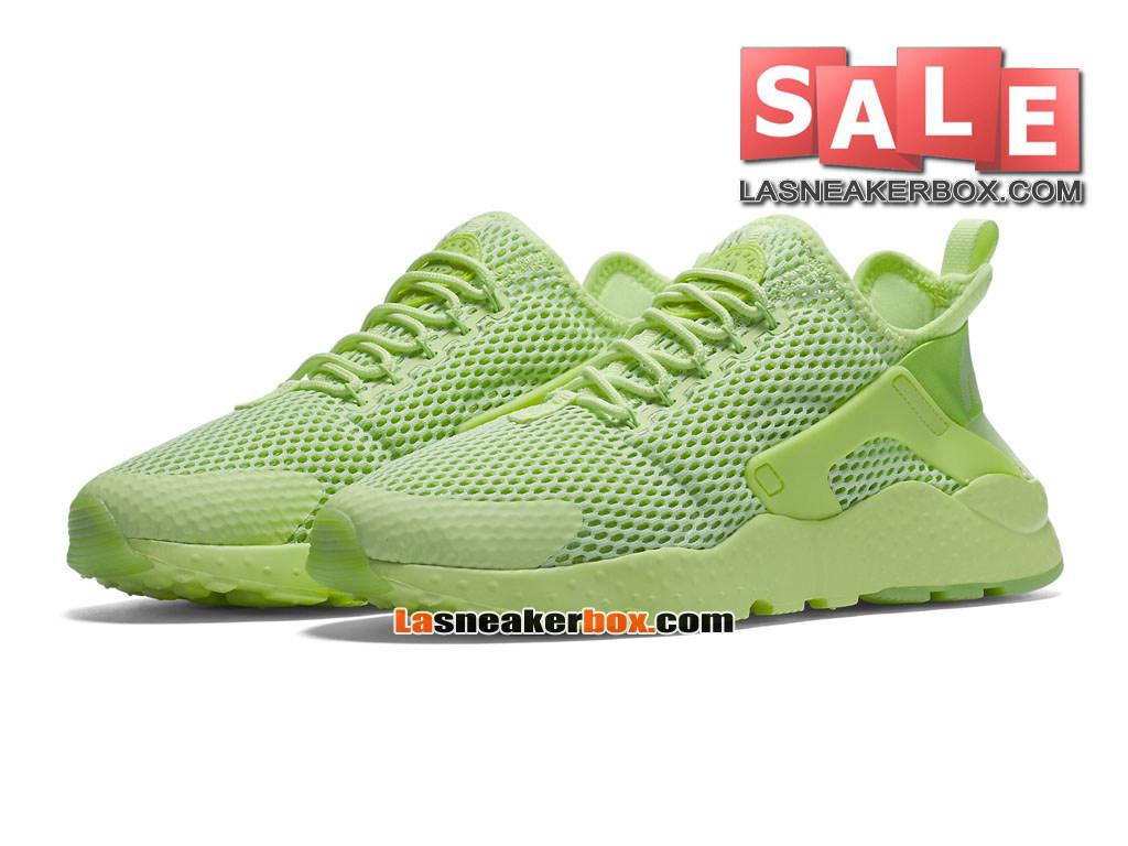 quality design 39626 190cf ... Nike Wmns Air Huarache Ultra - Chaussures Nike Sportswear Pas Cher Pour  Femme Fille Vert ...