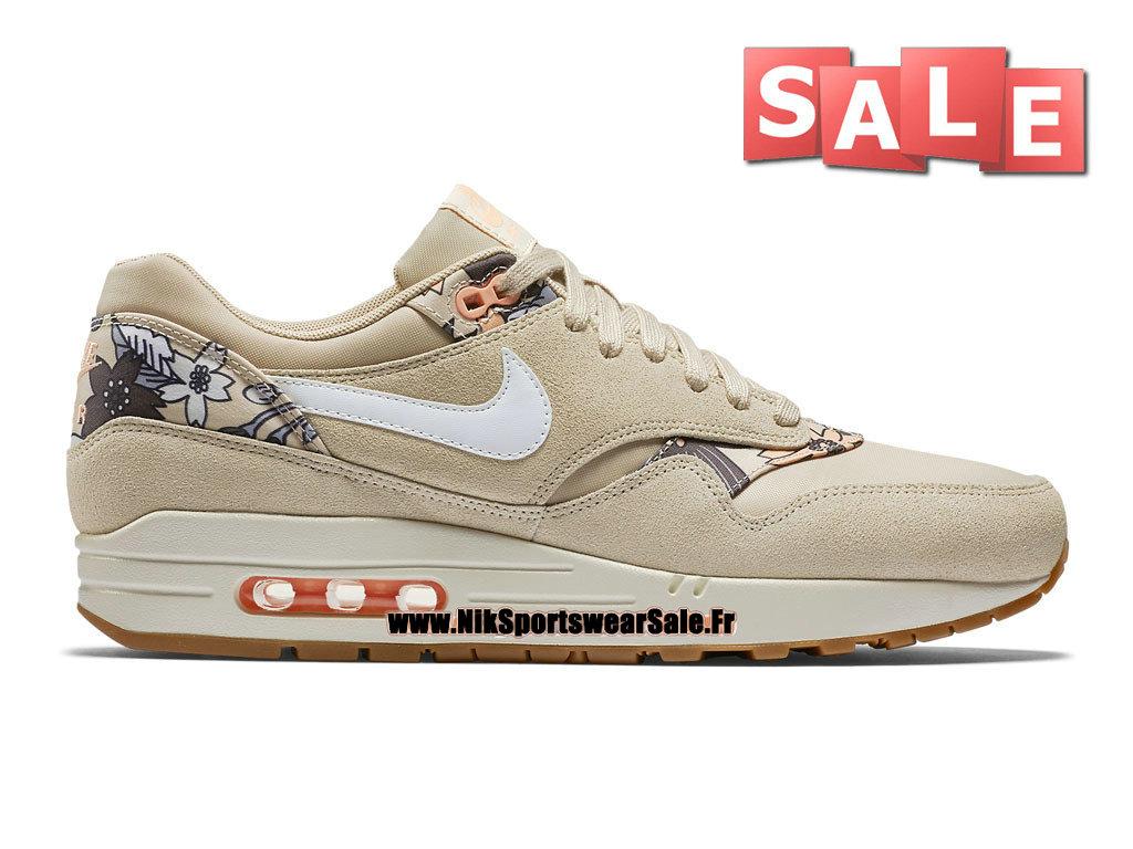 super popular 7e51b c5755 Nike Wmns Air Max 1 87 Print - Chaussures Nike Sportswear Pas Cher Pour  Femme