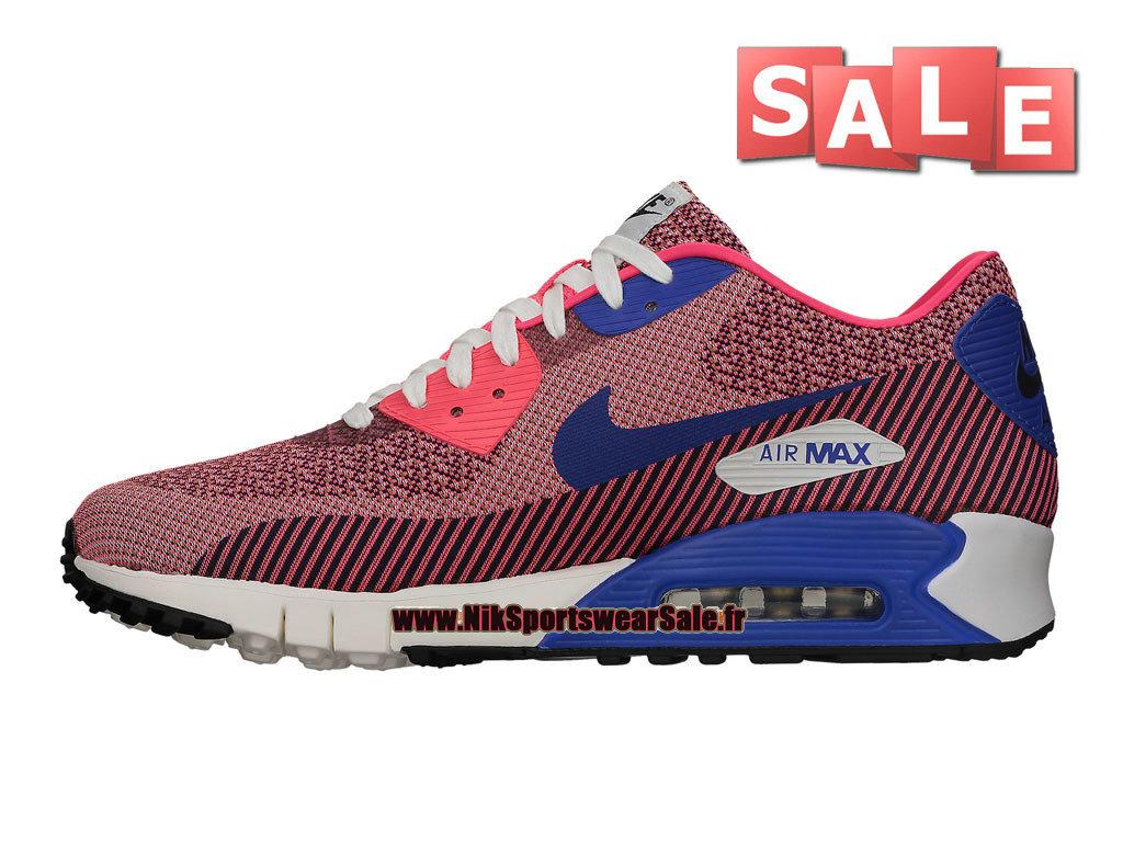 check out cb913 b6e56 ... Nike Wmns Air Max 90 Jacquard PREM QS - Chaussures Nike Sportswear Pas  Cher Pour Femme