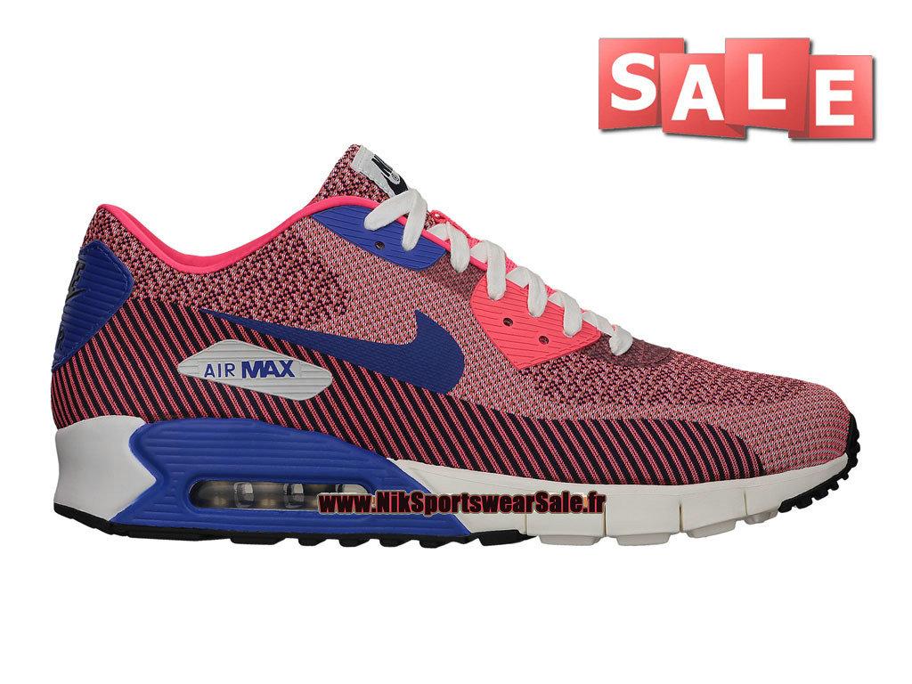 size 40 a84cf 56344 Nike Wmns Air Max 90 Jacquard PREM QS - Chaussures Nike Sportswear Pas Cher  Pour Femme ...