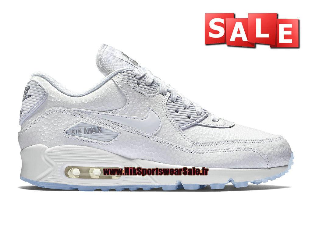 new concept a0c28 c167d Nike Wmns Air Max 90 Premium GS - Chaussure Nike Sportswear Pas Cher Pour  Femme  ...