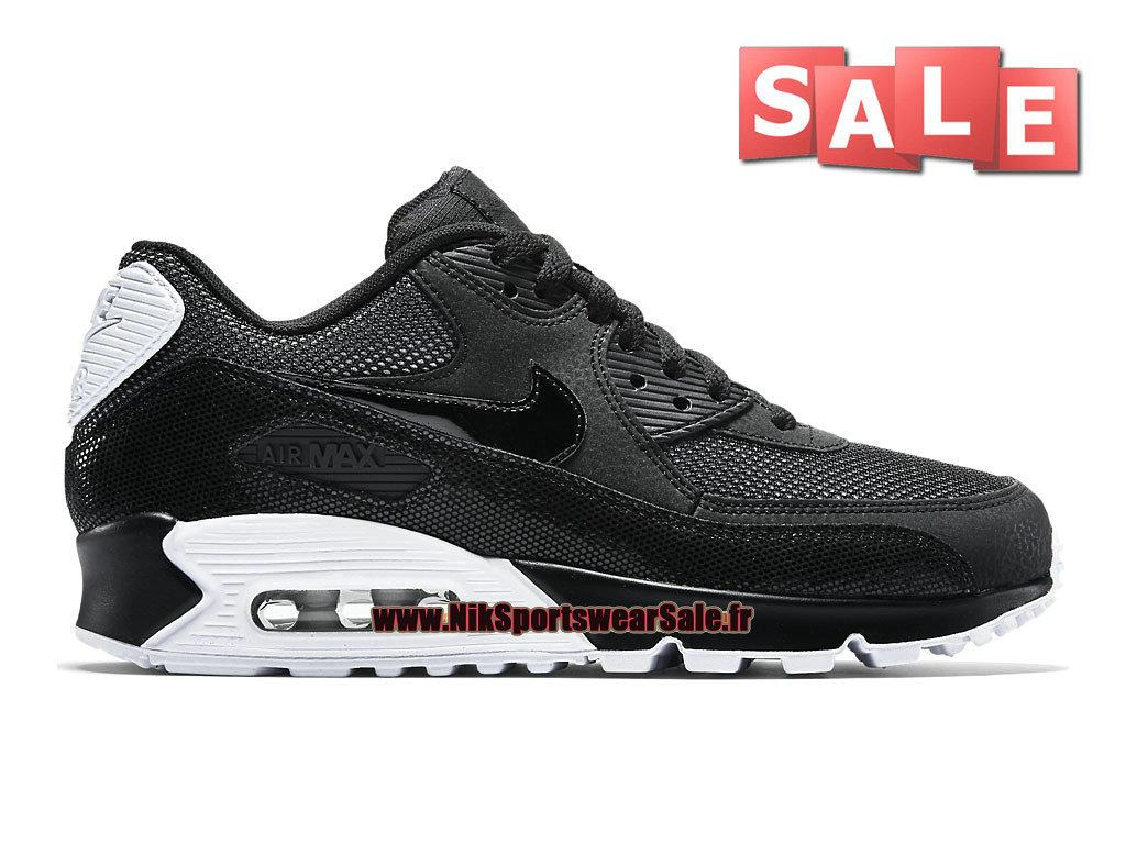 e356665b932 Nike Wmns Air Max 90 Premium GS - Chaussure Nike Sportswear Pas Cher Pour  Femme  ...