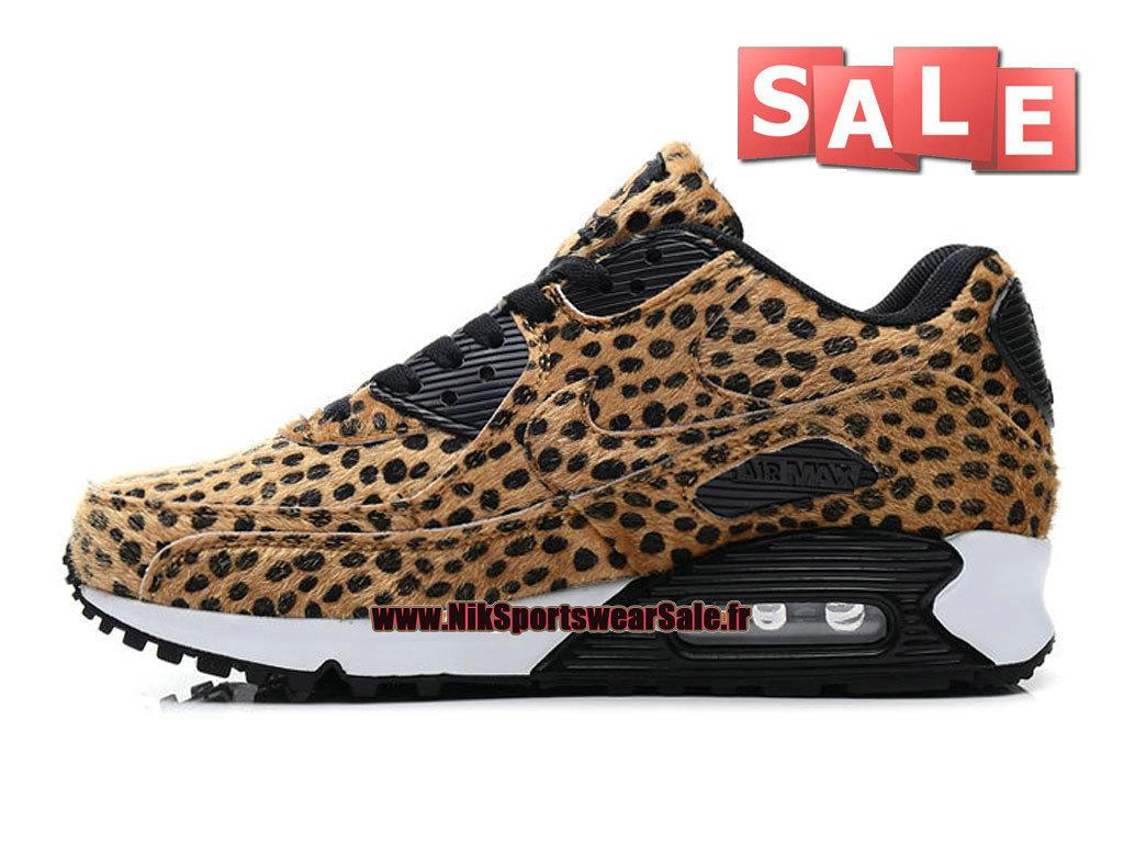 ... Nike Wmns Air Max 90 Premium Tape - Chaussures Nike Sportswear Pas Cher Pour  Femme/ ...