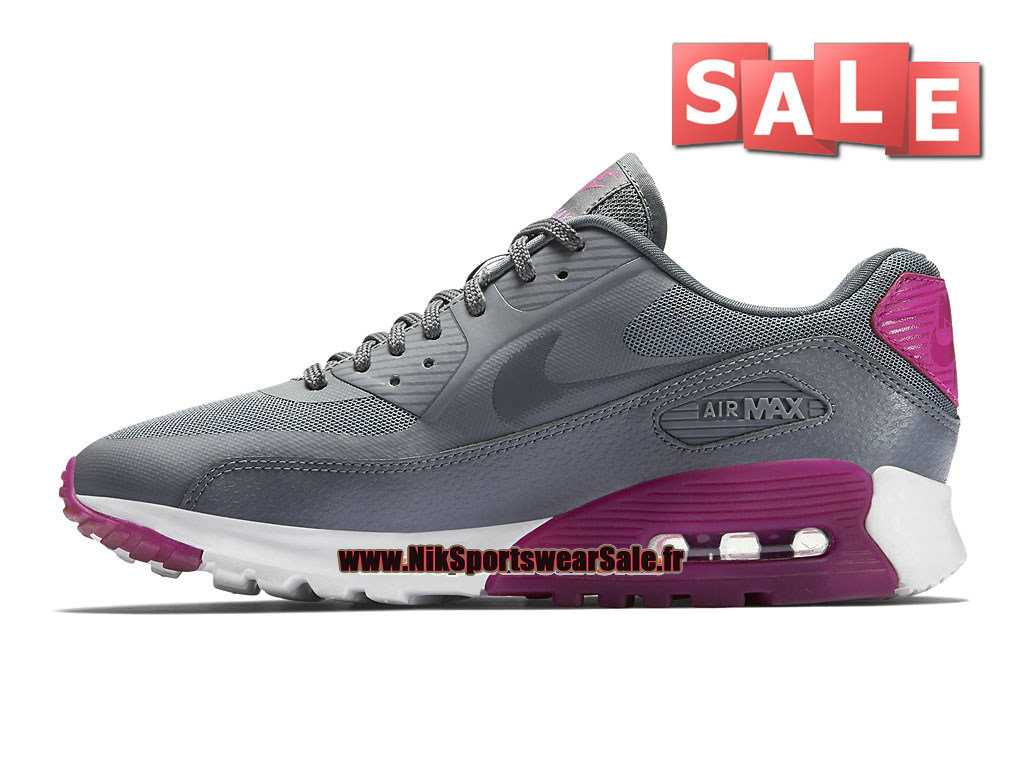 competitive price f0c95 a0064 ... Nike Wmns Air Max 90 Ultra Essential GS - Chaussure Nike Sportswear Pas  Cher Pour Femme ...