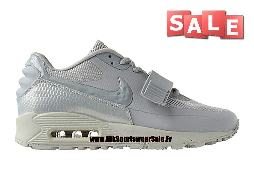 best sneakers ef443 639a2 Accueil → Femmes Enfants → Nike Air Max 90 GS → Nike Wmns Air Max 90 Yeezy  2 SP (Blkvis) - Chaussure Nike Sportswear Pas Cher Pour Femme Enfant Gris  ...