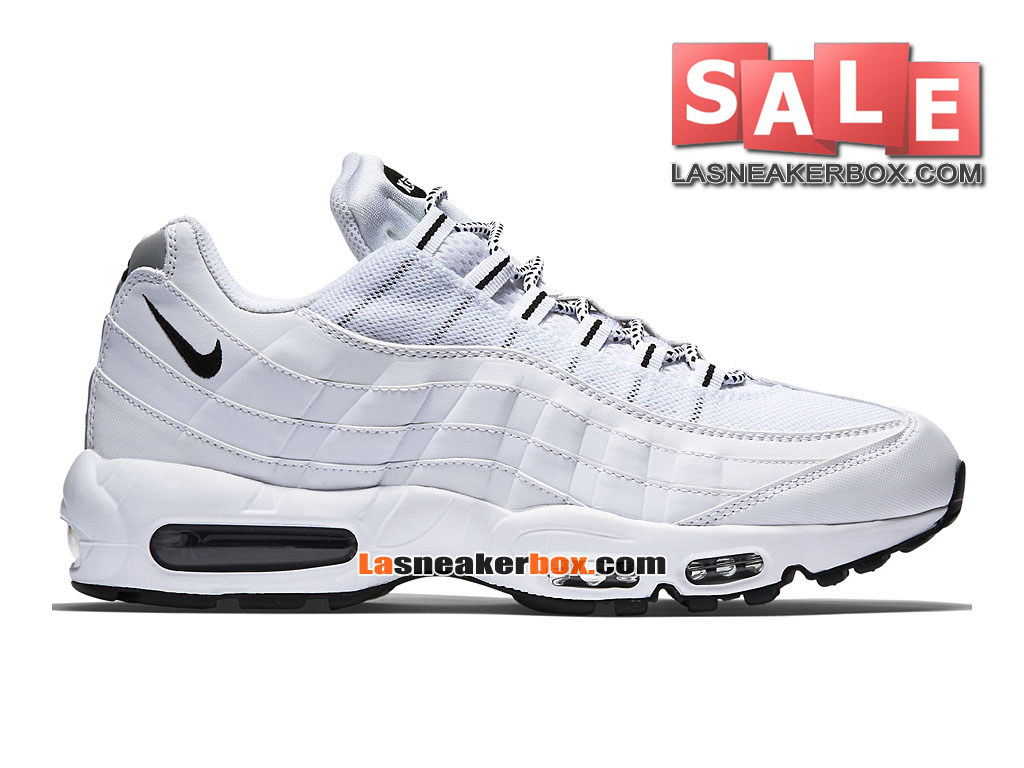 huge selection of e5c37 342ab Nike Wmns Air Max 95 - Chaussure Nike Sportswear Pas Cher Pour Femme Enfant  Blanc