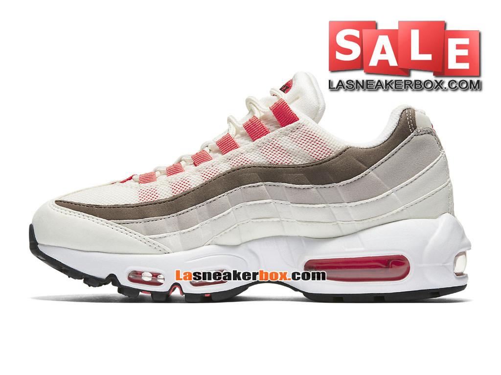 huge discount c8a1b 6d733 ... Nike Wmns Air Max 95 OG - Chaussures Nike Sportswear Pas Cher Pour Femme Enfant  ...