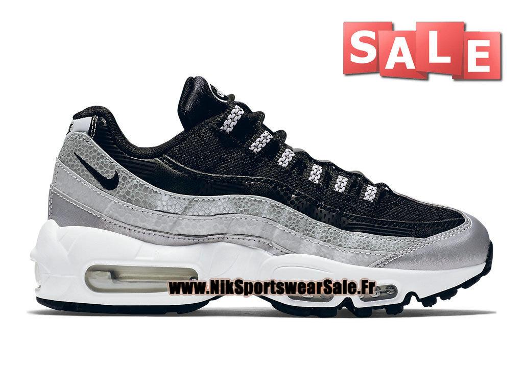 best service 62df6 26785 Nike Wmns Air Max 95 QS - Chaussures Nike Pas Cher Pour Femme Enfant Platine