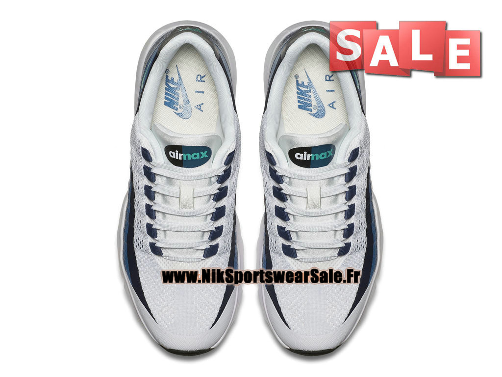 size 40 11a05 79f72 Nike Wmns Air Max 95 Ultra - Women´s Kids´ Nike Cheap Shoe White Crystal  Mint Brigade Blue New Slate 749212-100 (Item No.:749212-100)