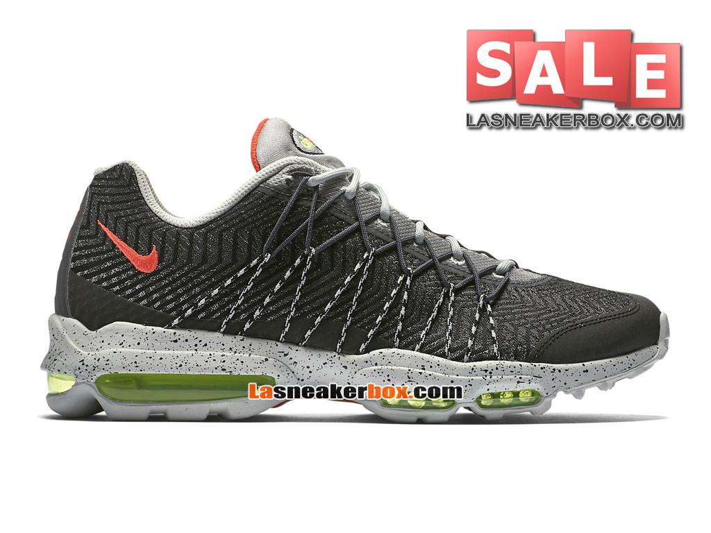 more photos bd0f7 26e44 Nike Wmns Air Max 95 Ultra Jacquard - Chaussures Nike Sportswear Pas Cher  Pour Femme