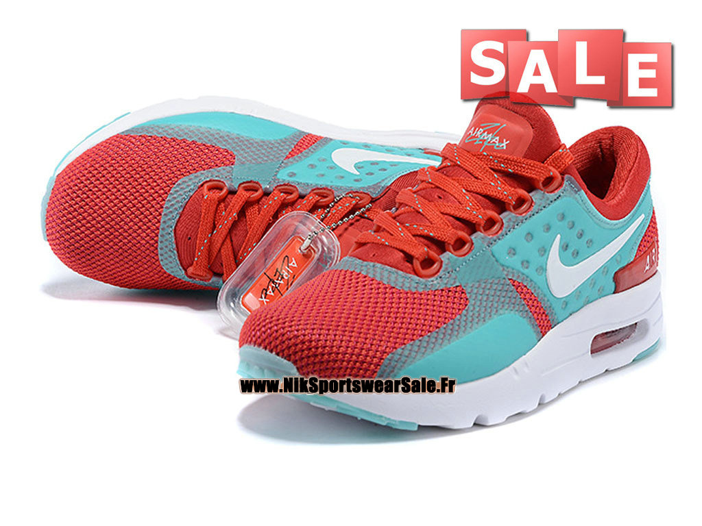 low priced 961bc ed895 ... Nike Wmns Air Max Zero - Chaussure Mixte Nike Sportswear Pas Cher (Taille  Femme  ...