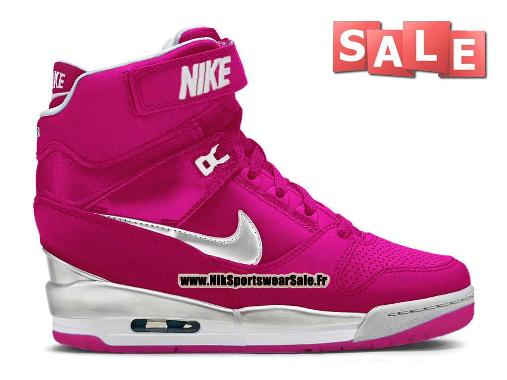 new styles 12ba4 c3bfd Nike Wmns Air Revolution Sky Hi (Nike iD) - Chaussure Montante Nike Pas Cher