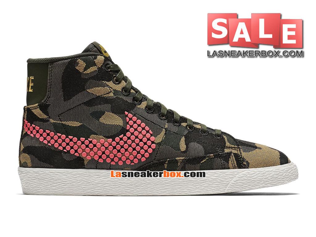 7775a5183c590 Nike Wmns Blazer Low x Pedro Lourenço - Chaussures Basses Nike LifeStyle  Pas Cher Pour Femme ...