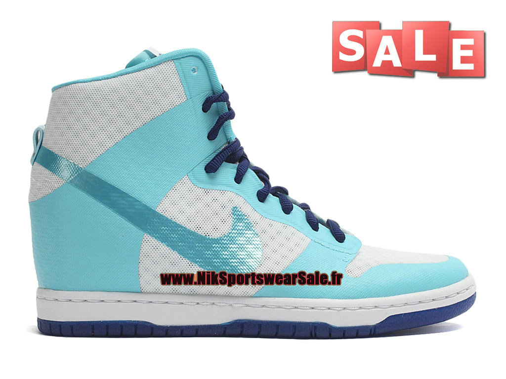 brand new 4085c 8e4d9 Nike Wmns Dunk Sky Hi 2.0 Breathe - Chaussures Nike Wedge Footwear Pour  Femme Fille