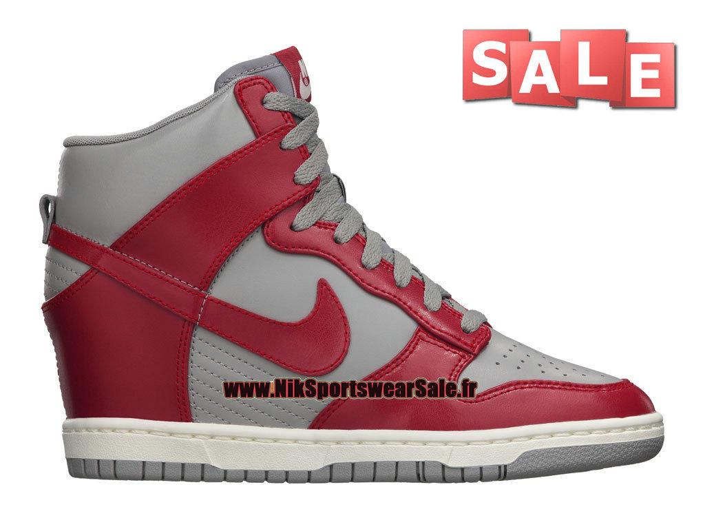 sports shoes ea7e7 17740 Nike Wmns Dunk Sky Hi - Women´s Girls´ Nike Leather Casual Shoe