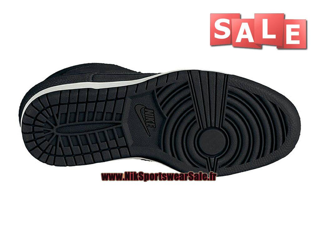 buy online 7b184 e9354 ... Nike Wmns Dunk Sky Hi - Chaussure Nike Montante Pas Cher Pour Femme Fille  Noir