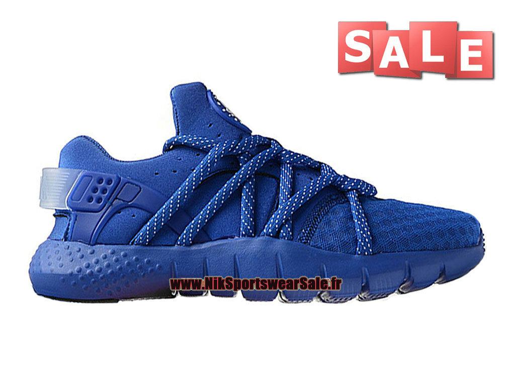 ac789e31eb7 Accueil → Femmes Enfants → Nike Air Huarache GS → Nike Wmns Huarache NM  (Natural Motion) iD - Nike Sportswear Pas Cher Chaussure Pour Femme Enfant  Bleu ...