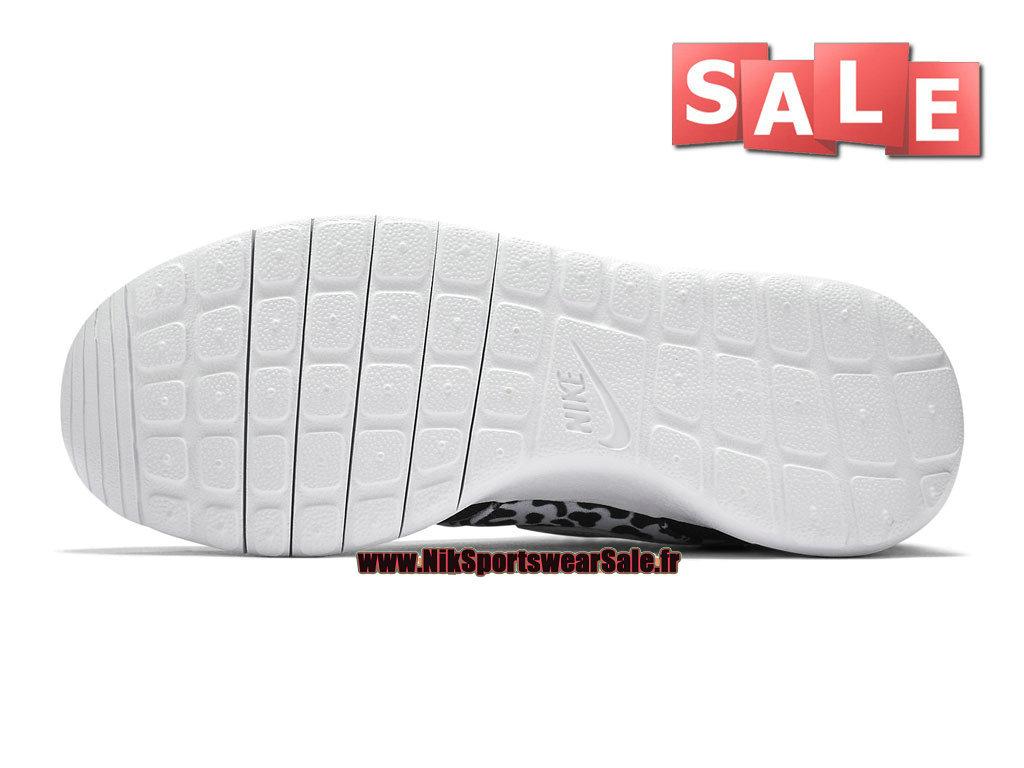 finest selection 2672d e4dac ... Nike Wmns Roshe One Print - Chaussures Nike Sportswear Pas Cher Pour  Femme Enfant Noir ...