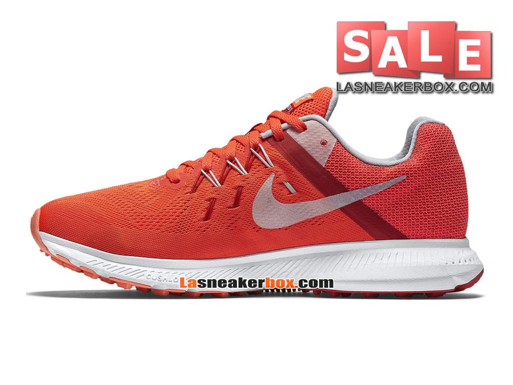 la moitié 4e0a3 38e0c Nike Wmns Zoom Winflo 3 - Chaussure de Running Nike Pas Cher Pour  Femme/Fille Cramoisi brillant/Rouge université/Rose atomique/Platine  métallisé ...