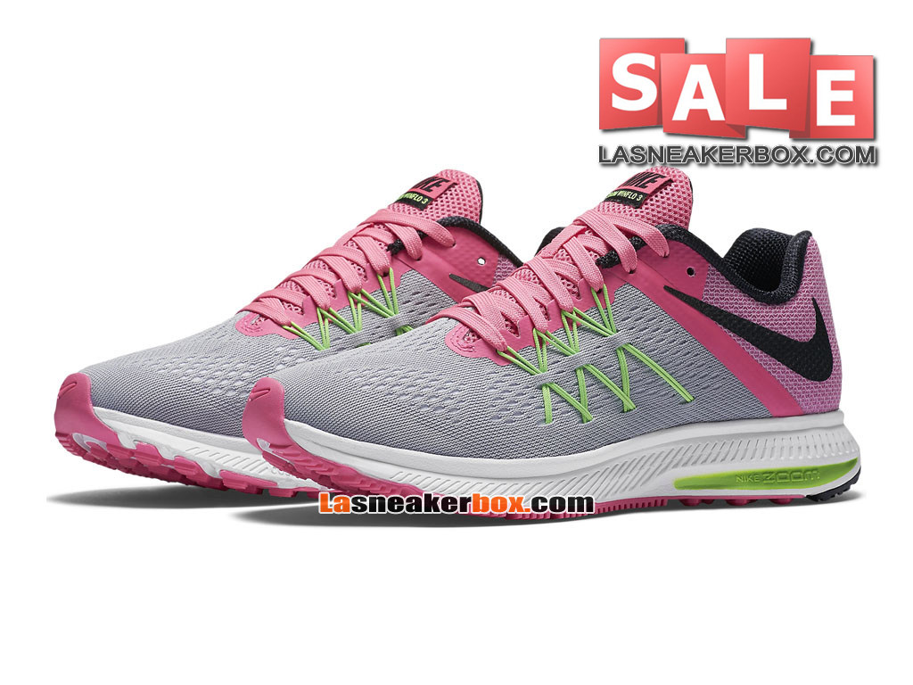 new product 317c7 4968d ... Nike Wmns Zoom Winflo 3 - Chaussure de Running Nike Pas Cher Pour  Femme Fille ...