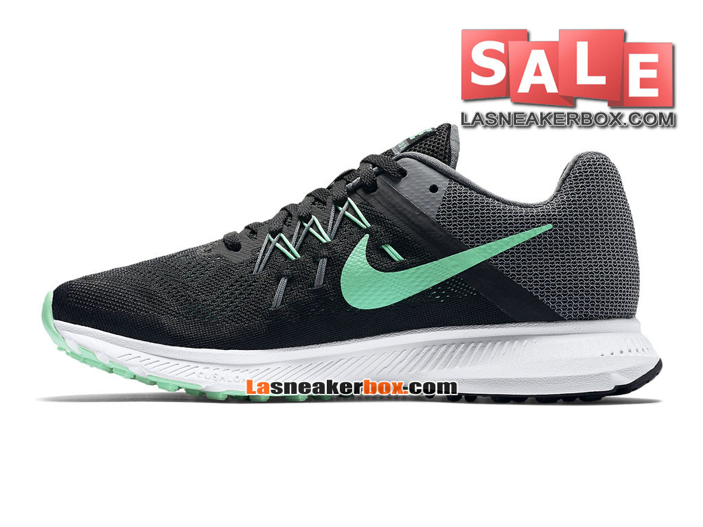 more photos fe0ff a026b ... Nike Wmns Zoom Winflo 3 - Chaussure de Running Nike Pas Cher Pour Femme Fille  ...